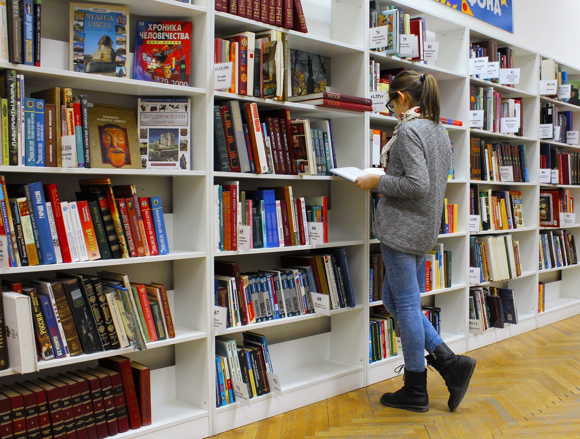 como ler livros livraria