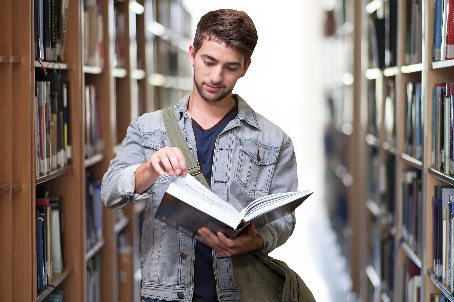 como ler livros biblioteca