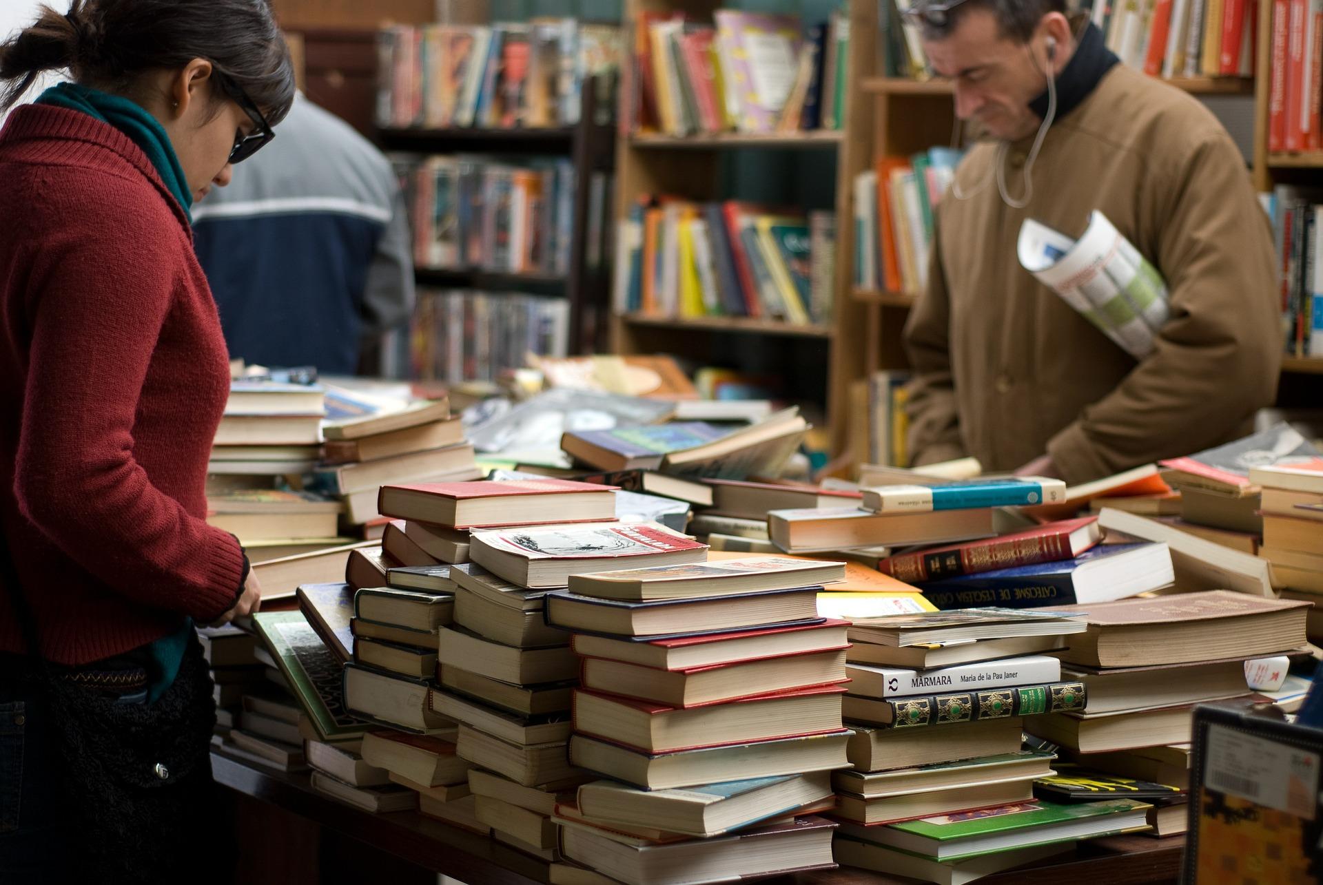 como ler livros feira livro