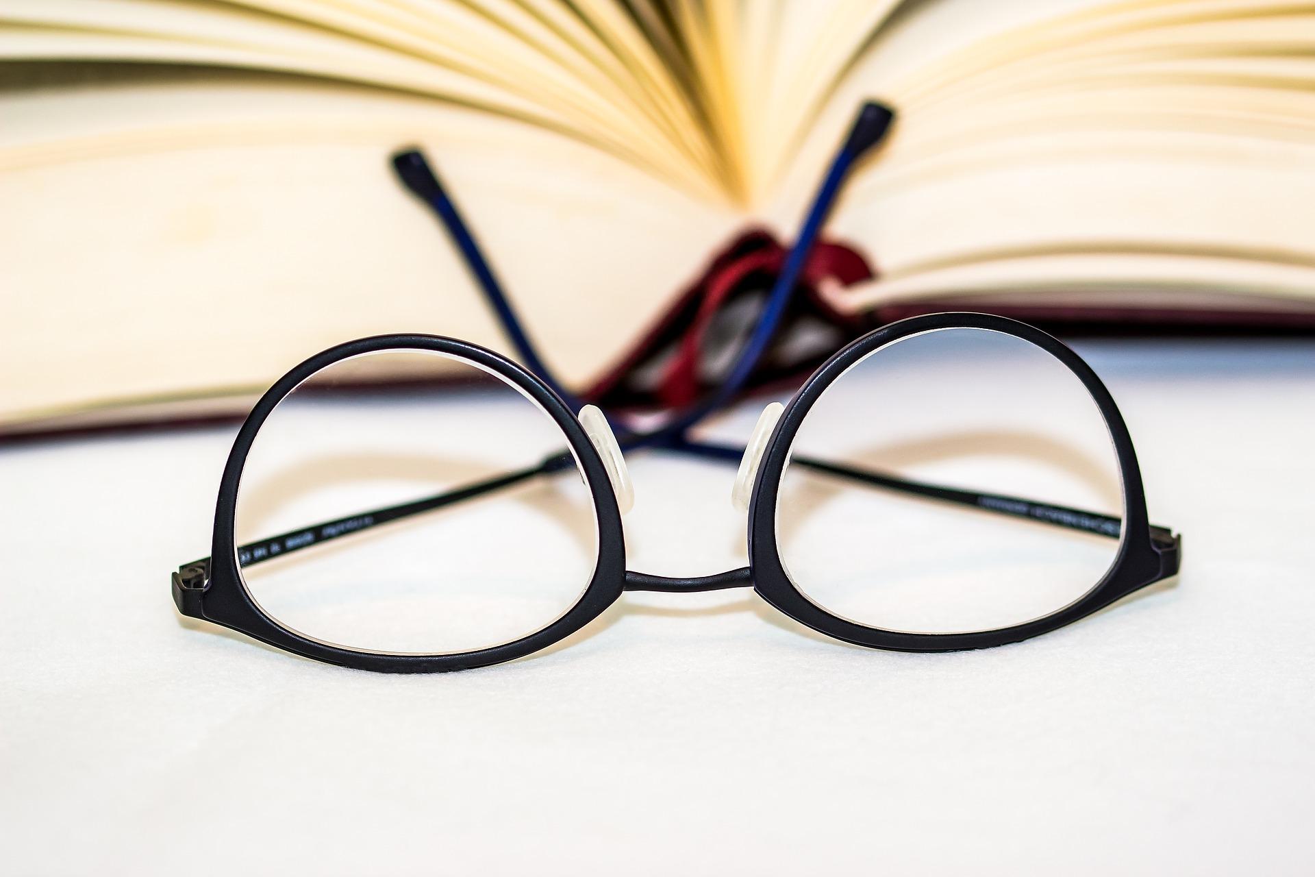 como ler livros oculos