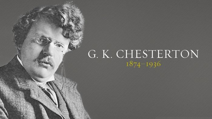 C.S. Lewis e Chesterton