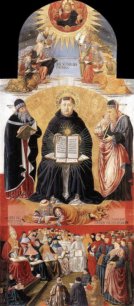 Escolástica Santo Tomás de Aquino 02