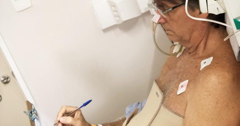 atentado a bolsonaro - foto hospital