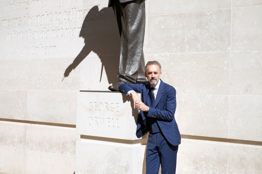 jordan peterson estatua