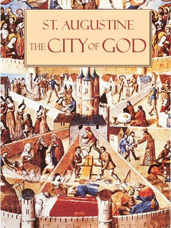 """Santo Agostinho, """"A Cidade de Deus"""""""