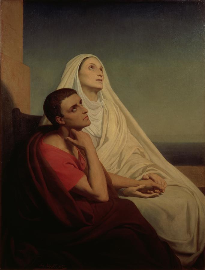 Santo Agostinho e Santa Mônica