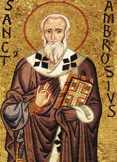 Santo Agostinho e Santo Ambrósio