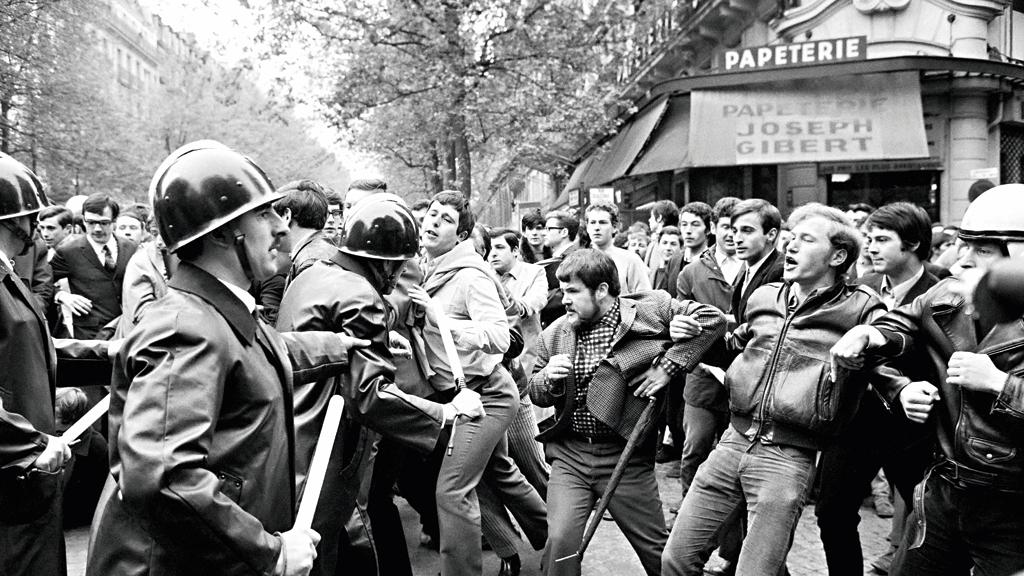 manifestações 1968