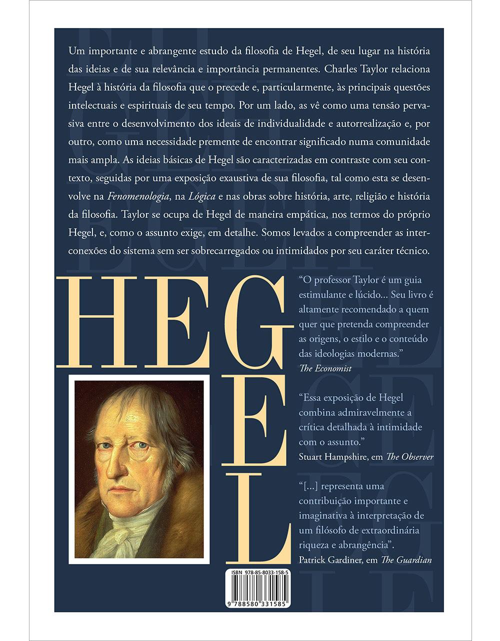 Ideias De Hegel ~ É Realizações Hegel Sistema, método e estru